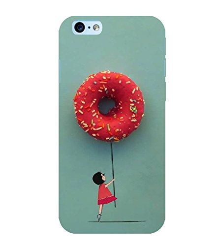 OBOkart Doughnut 3D Hard Polycarbonate (Plastic) Designer Back Case Cover for Apple iPhone 6 :: Apple iPhone 6s