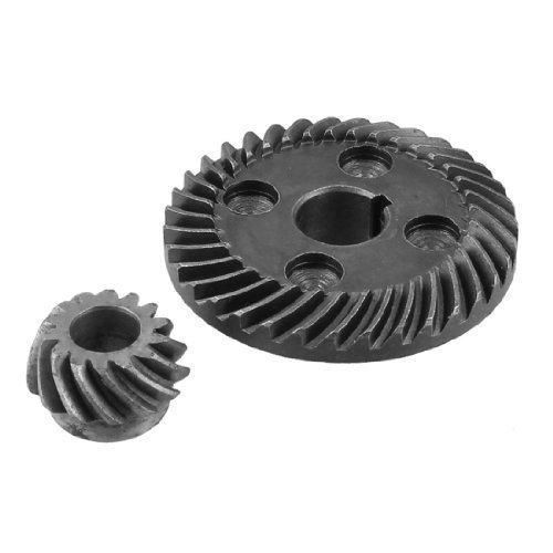 Preisvergleich Produktbild sourcingmap® Metall-Spiral Bevel Gear Set für Hitachi F3 Winkelschleifer
