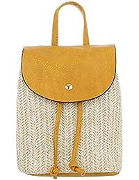 Ital-Design - Bolso mochila de Sintético para mujer
