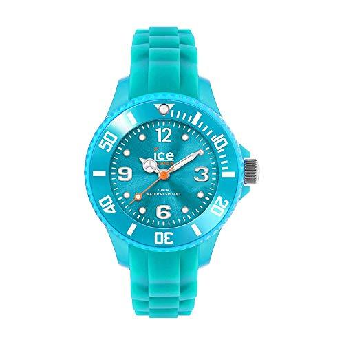 Ice-Watch - Ice Forever Turquoise - Blaue Damenuhr mit Silikonarmband - 000965 (Small)