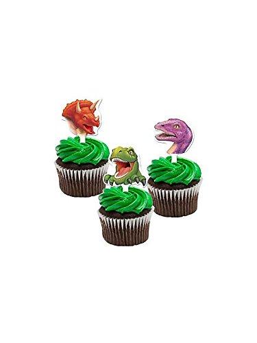 Creative Converting bb018915dinosaurio aventura Cupcake púas–12unidades