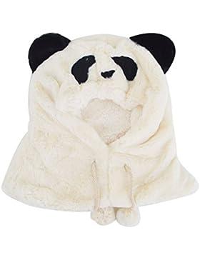 Meliya carino inverno caldo cappello sciarpa set unisex neonati bambini cappuccio cappello sciarpa 1pezzo a forma...