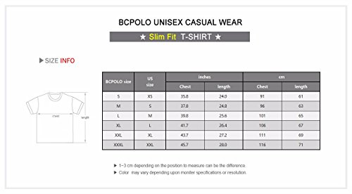 BCPOLO Herren Power Stretch Short Sleeve Slim Fit T-Shirts V-Ausschnitt-lila