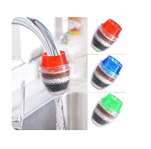 HOME CUBE 1 Pc Kitchen Bathroom Faucet Extenders Water Saving Faucet Double Purifier Water Valve Splash Regulator Water Filter Tap Kitchen Accessories - Random Color