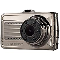 Cebbay Cámara de Coche HD Cámara Sprint 1080pDVR de 3,0 Pulgadas Registrador de Viaje
