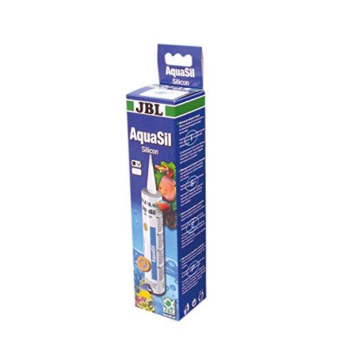 JBL AquaSil 6139300 Spezialsilikon für Aquarien und Terrarien, 310 ml, schwarz