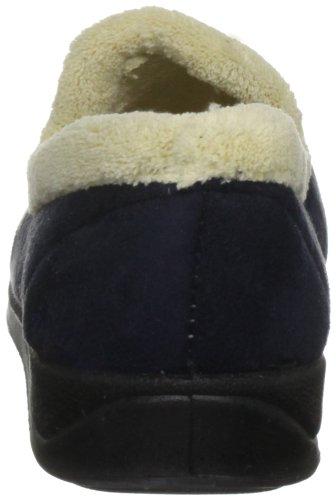 Padders Repose, Damen Hausschuhe Blau (Marineblau)