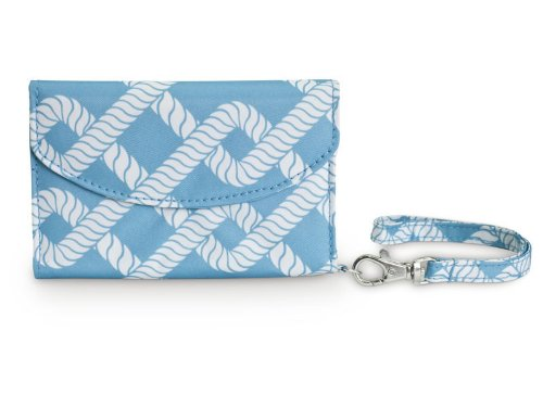All For Color Coastal Link Smart Phone ID Wristlet