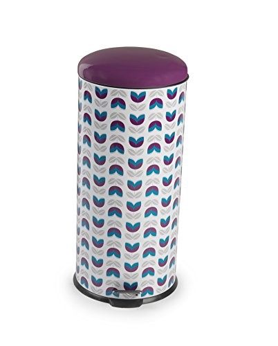 Salter BW04607 Maddison 30 Litre Purple Kitchen Bin