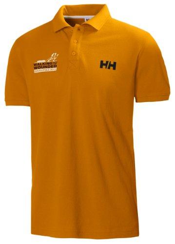 Helly Hansen gehen mit dem Verwundete HH Crew Polo Shirt clementine
