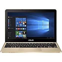 Asus E200HA-FD0043TS 29,4 cm (11,6 Zoll) Notebook (Intel Atom X5-Z8350, 2GB RAM, 32GB eMMC, Intel HD-Grafik, Win 10 Home) gold