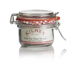 Kilner 125 ml Genuine Clip Top Jar (Pack of 12)