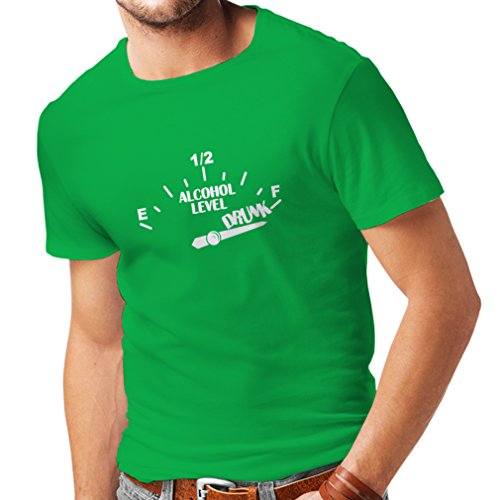 N4177 T-shirt da uomo Another Drink please ! gift Verde Bianco