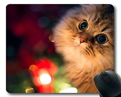 Gaming-Mauspad, lustige Katze-Mausunterlage der niedlichen Fantasie, Mäusematte für Computer cat274