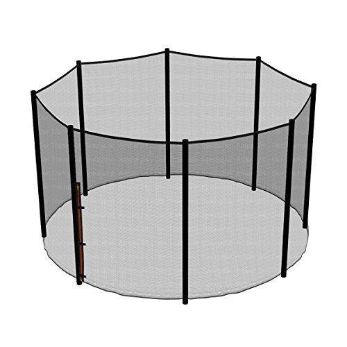 Ampel 24 Trampolin Sicherheitsnetz | Ersatznetz 305 cm für 8 Pfosten | UV-beständig | extrem reißfest | Netz außenliegend