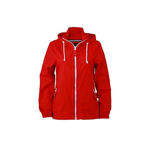 JAMES & NICHOLSON - veste nautique voilier - coupe-vent et déperlante - JN1073 - Femme Rouge