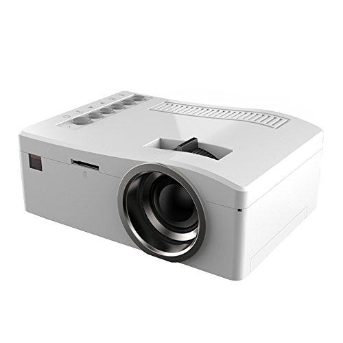 Hrph Portable 1080P Heimkino Mini LED Multimedia Video Projektor PC USB TV TF HDMI Proyector Beamer