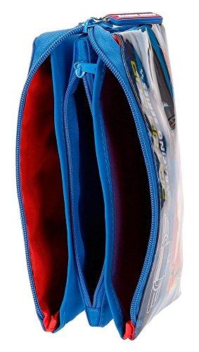 Disney Racing Series Neceser de Viaje, 22 cm, 1.32 litros, Azul