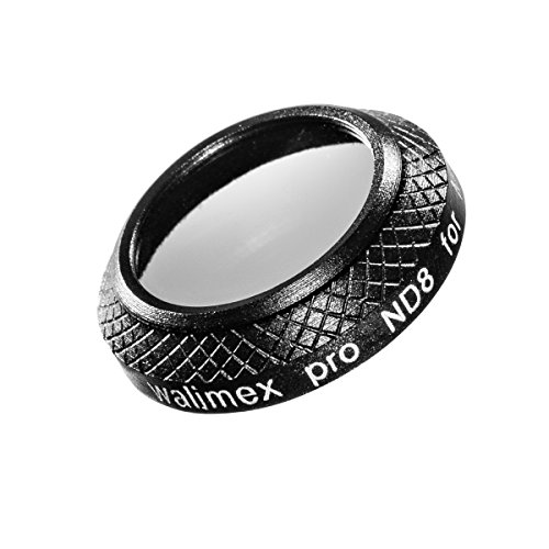 Walimex Pro Drohnenfilter DJI Mavic Pro ND8 22 mm (inklusiv Schutzhülle) schwarz -