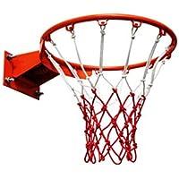 Aro de Baloncesto, aro de Baloncesto montado en la Pared, portería de Baloncesto para Colgar en Interiores con (35cm/45cm) D