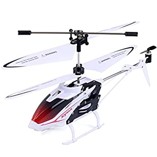FDS RC Helicopter Syma S5 3-Channel Speed Mini Infrared Helicopter with GYRO system (White)