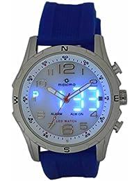 Maxima Analog-Digital Black Dial Men's Watch - 38072PPAN