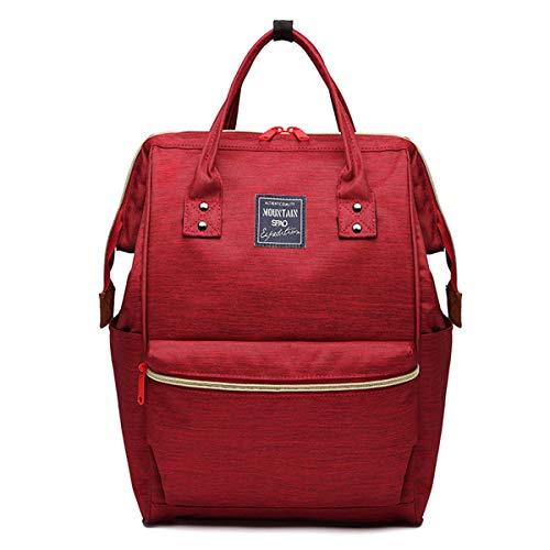 Neverending Mädchen Teenager Rucksack Schultasche Canvas Schulrucksäcke wasserdichte Schulrucksack Backpack Daypacks für Damen Herren geeignet für 15.6 Zoll Laptop Notebook