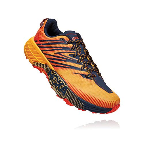 HOKA ONE ONE One Speedgoat 4 Gold Fusion Black Iris