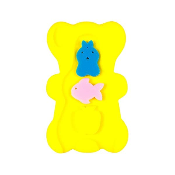 NIRVANA Comfy Foam Bath Support Baby Bath Sponge Mat Cushion Anti Bacterial & Skid Proof for Baby 1-12 mounths 3