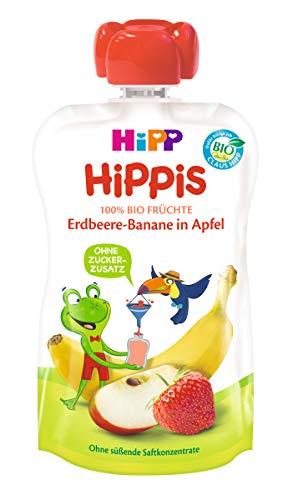 HiPP Ferdi Frosch - Erdbeere-Banane in Apfel