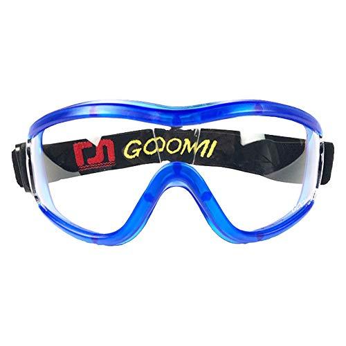 Kindersicherheitsbrille für Anti-Spring-Pollen Unisex, Schutzbrille mit durchsichtigen, kratzfesten Anti-Fog-Linsen und rutschfesten Griffen, UV-Schutz. Outdoor-Sportschutzbrillen zum Schutz von Kinde