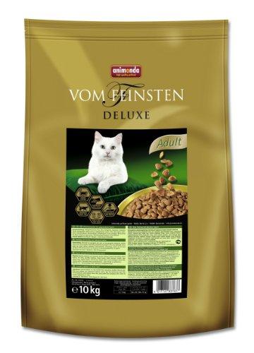 Animonda Vom Feinsten Deluxe Adult, Trockenfutter für erwachsene Katzen von 1-6 Jahren, aus Geflügel, 10 kg