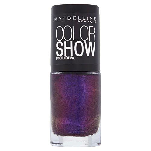 Maybelline Color Show Vernis à ongles Couleur Show Prune (Plum Paradise)