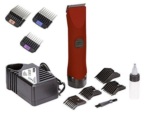 Rotschopf Professionale Scher macchina. 2X batteria agli ioni litio, 3Extra metallo aufsteck kaemme '. 35998