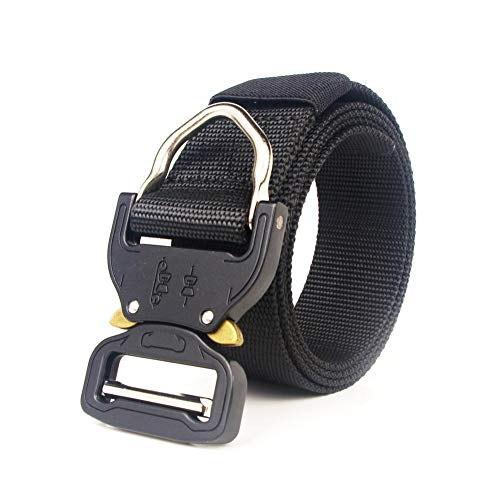"""a9931589b7 heresell Cintura Tattica Militare Tactical Belt for Men Military Style 1.5""""  Nylon Web Belt with"""