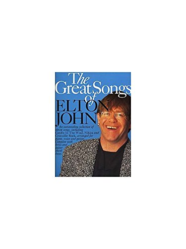 The Great Songs Of Elton John. Partitions pour Piano, Chant et Guitare(Boîtes d'Accord)