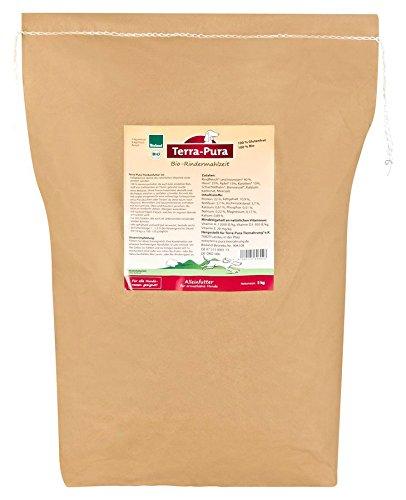 Terra Pura Rindermahlzeit 5kg Bio Hundefutter, 1er Pack (1 x 5 kg)