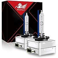 Win Power Bombillas para faros delanteros 35W D3R D3S D3C OED HID xenón bombilla de repuesto