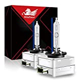 WinPower D3S Xenon Headlight Bulb 35W 12V Car HID Discharge Lamp Kit 8000K Cool Blue X-treme Light, 1 Pair