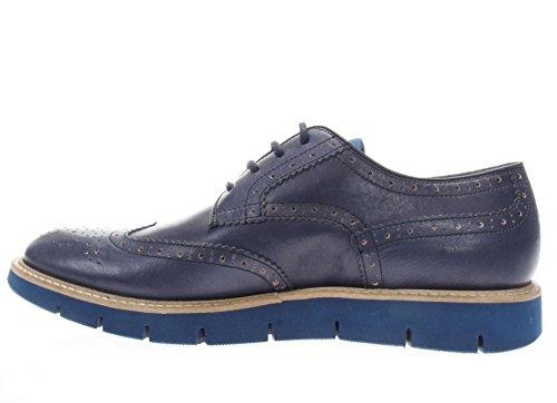 Docksteps Homme Lacé Dse104295 Lacé Avec Poinçon Indigo