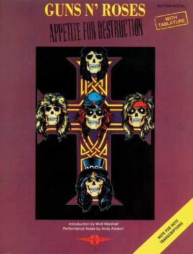 Appetite For Destruction: (Guitar TAB) - And Guns Tab Roses