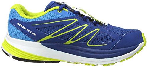 Salomon - Sense Pulse - Sneaker, homme bleu (Gentiane/Methyl Blue/Gecko Green)
