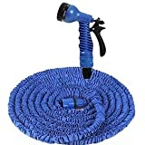 STYLELIME Expandable Magic Flexible Water Hose 75 Ft EU Hose Plastic Hoses Pipe With Spray Gun To Watering Washing Cars(75ft)