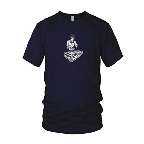 Dj Bruce - Herren T-Shirt Dunkelblau