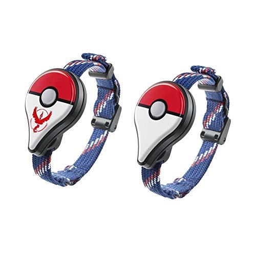 0712941818374 YouN 2pcs Bluetooth Wristband Bracelet Watch Game Accessory for Pokemon Go  Plus