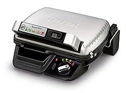 Tefal Supergrill Grill (2000W, Kontakt-Grill, Elektro, Aluminium, 320x 240mm, Aluminium)