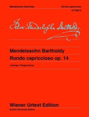 Rondo capriccioso - Wiener Urtext Edition - piano - ( UT 50215 )