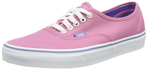 Vans Authentic, Sneakers Basses Mixte Adulte Rose (Iridescent Eyelets/Wild Rose)