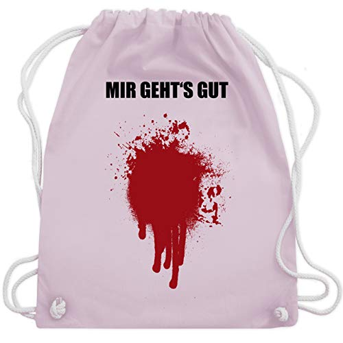 's gut Blutfleck Kostüm - Unisize - Pastell Rosa - WM110 - Turnbeutel & Gym Bag ()