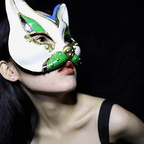 Vampir Black Child Perücke - Halloween Masks Adults Exquisite Black Half